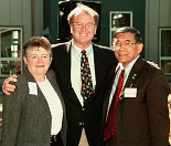 Chancellor Greenwood, Sam Farr, and Norman Mineta