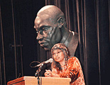 Photo of Alice Walker speaking