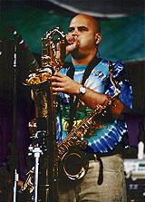 Photo: Tenor saxophonist Dave Ellis