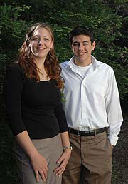 Kristen Townsend and Anthony Tucci