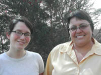 Photo of Sarah Amador and Lourdes Mart�nez-Echaz�bal