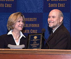 Photo of Dana Priest and Dean Hutchison