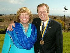 Chancellor Denton with UC President Dynes