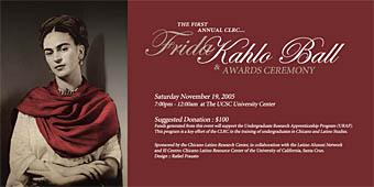 Poster for Frida Kahlo Ball