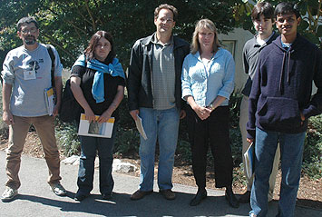 Students, graduate dean