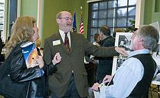 Assemblymember John Laird, Bryan Gross, Stephanie Coleman
