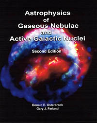 Book covef of Astrophysics of Gaseous Nebulae