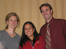 Photo: Lisa Randall, Andrea Aguilar, Joe Manildi