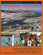 Cover of Fall 2005 Rec Guide