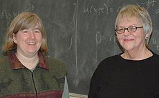 Gretchen Andreasen and Barbara Sorensen
