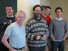 Photo of CASP team