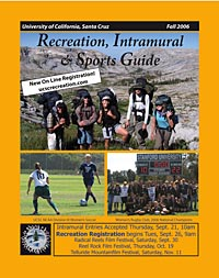Cover of Fall 2006 Rec Guide