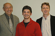 Photo of John Dizikes, Gilad Gressel, Jaye Padgett