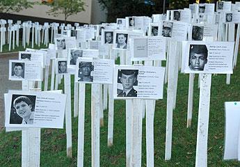 Photo of memorial