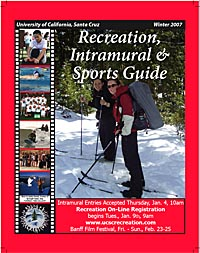 Cover of Winter 2007 Rec Guide