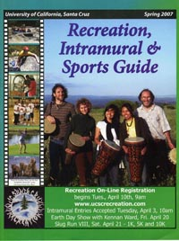 Photo of cover of Spring Recreation, Intramural, and Sports Guide
