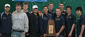 Photo of men's tennis team